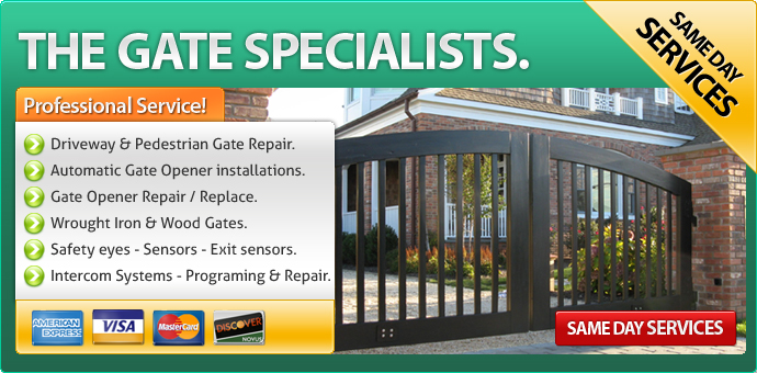 Gate repair Burbank CA